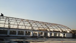 FABRICATION OF ROOFING STRUCTURE