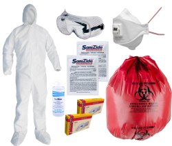 Corona Virus Protection Kit With Coverall Body Suit
