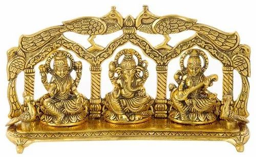 Brass Statue Sankha Chakra Naama in A Set Collective Return Gift