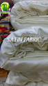 Plain White Satin Fabric For Interlining, Design/pattern: Dyed
