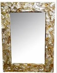 Nayan 18x24 Mop Frame Mirror, Thickness: 12mm, Shape: Rectangle