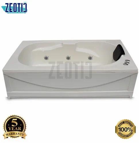 Zeotic Raison 5.5x3x1.8 / 66x36x20 Single Person Acrylic Massage Hydro Massage Jacuzzi Bathtub