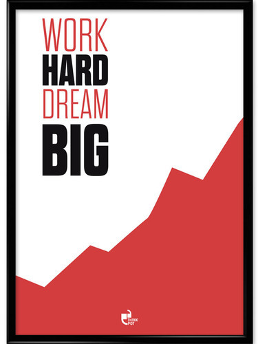 Big Designer Motivational Wall Frames for Office & Home at Rs 600 ...