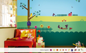 Multicolor Backyard Story Magneeto Themes
