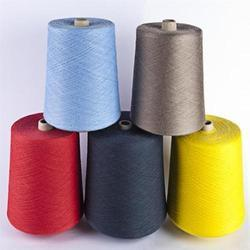 Ring Spun White Polyester Viscose Yarn, For Textile Industry