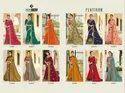 Indian Women Green Saree - Platinum 9, Designs-12