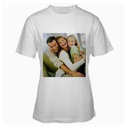 Photo Printed Round Neck T Shirt