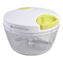 Wonderchef String Plastic Chopper, White and Green Corporate Gifting