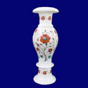 Marble Stone Inlay Flower Vase