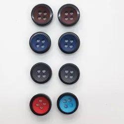 Plain Plastic Shirt Button