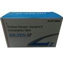 Diclofenac Potassium 50 mg Paracetamol Serratiope Tablet