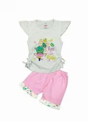 KIDS STYLISH TOP WITH SHORTS