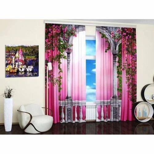 3D Room Curtains