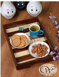 Brown Wooden Tray