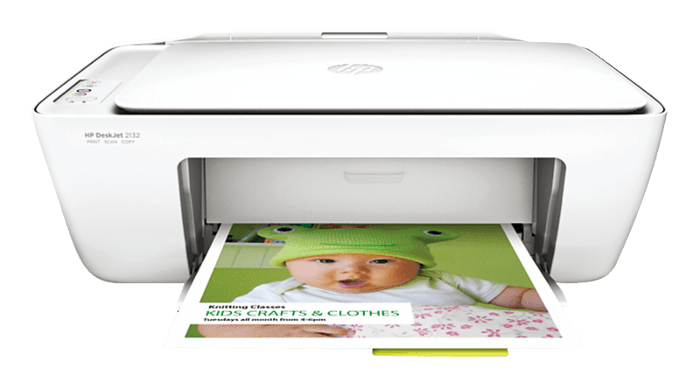 HP DeskJet 2132 Color Multifunction Printer, Upto 20 ppm
