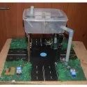 Tractable Pollution Control Model