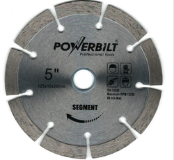 Powerbilt 5 Wall Cutting Blade / Granite