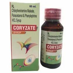 Chlorpheniramine Maleate, Paracetamol and Phenylephrine HCL Syrup