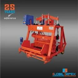 Moving Type Concrete Block Machine