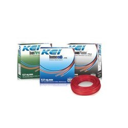 Red Copper KEI Electrical Wire Multi Stand, 220-440 Volt, Insulation Thickness: 6mm