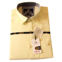 Mens Pure Cotton Full Sleeves Plain Shirt