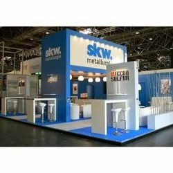 Indoor Exhibition Stand Designing Service, in Pan India, for advertising