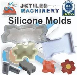 Silicon Plastic Paver Moulds
