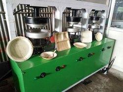 High Speed Areca Leaf Plate Making Machine