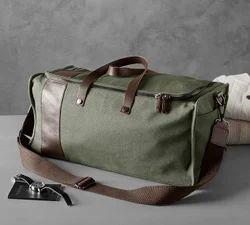 Madura Coats Green and White Bag