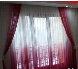 Plain Polyester Window Decorative Curtain, Size: 5x4.5 Feet