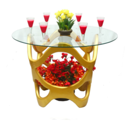 Golden Designer Center Table
