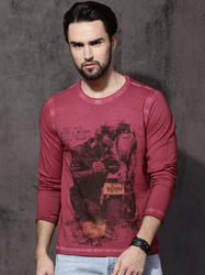 Full Sleeve Red T-Shirts