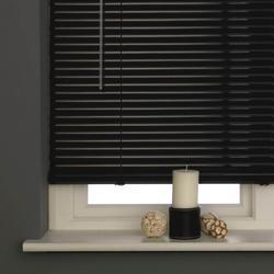 Aluminium Black Window Blind
