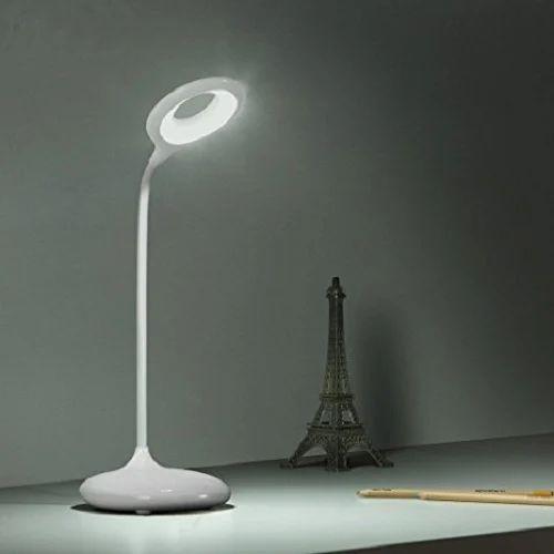 Lovato White Rltable Desk Lamp Led Light For Study Office Bedroom