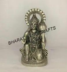Silver Plated Hanuman