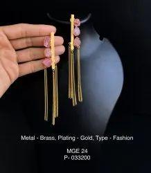 Pink Druzy Stone Earrings