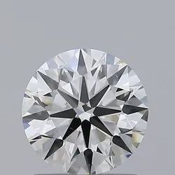 1.06ct Lab Grown Diamond CVD J VS1 Round Brilliant Cut IGI Certified Stone