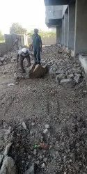 Dabar Rubble Soling Road Work