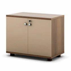 Brown File Storage Cabinet