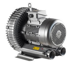 Cast Iron 1 hp Vertex Blower, 3000 rpm, for Industrial