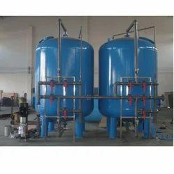 Mild Steel Filtration Plant