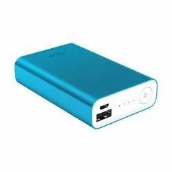 Blue, White Asus Power Bank, Packaging Type: Carton Box