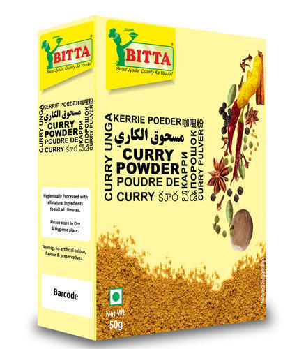 BITTA Curry Powder, Packaging: Bags