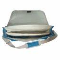 15 Inch Jute Messenger Laptop Bag