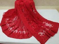 soft net Party Wear Designer Saree