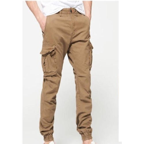 6072795cff1 Plain Brown Mens Cargo Pant, Rs 750 /piece, Bharat Garments | ID ...
