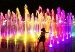 Programmable Floor Dancing Colorful Fountain