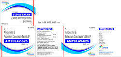 Amyclav - 625 Tablet