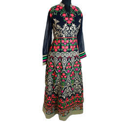 Embroidered Long Suit