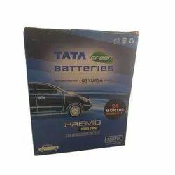 Premio TATA Green Car Batteries, Capacity: 26 Ah